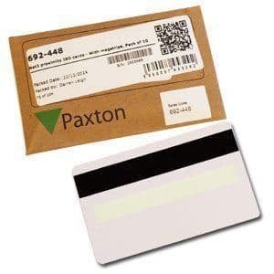 Paxton 692 448 - Net2 Prox Cards with Magstripe and Sig, 10 Pack